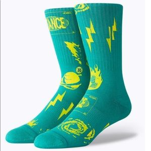 Stance Meteorite Crew Height Socks